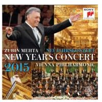 Sony Classical Releases  2015 New Year's Concert With Vienna Philharmonic & Zubin Mehta