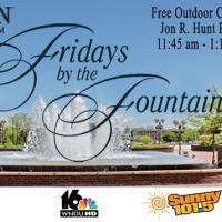 FRIDAYS BY THE FOUNTAIN Summer Series to Return to Morris PAC, 6/5