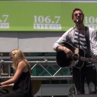BWW TV: ONCE's Arthur Darvill & Joanna Christie Visit BROADWAY IN BRYANT PARK!