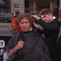 VIDEO: 'What If' Star Daniel Radcliffe Gives Haircut to Complete Stranger on JIMMY KIMMEL