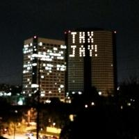 NBC Puts JAY LENO's Name in Lights as Glowing Tribute