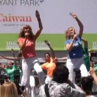 BWW TV: MAMMA MIA!'s Dancing Queens Perform at Bryant Park!