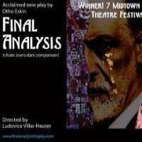 Off-Broadway's FINAL ANALYSIS and BREAKFAST WITH MUGABE Exceed Fundraising Goals on Kickstarter