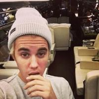 Photo: Justin Bieber Receives New Private Jet from Santa this Christmas