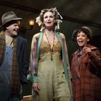 Photo Flash: First Look at Jane Lynch Strutting Her Stuff Onstage as 'Miss Hannigan' in ANNIE!