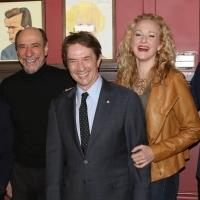 Photo Coverage: New Cast of IT'S ONLY A PLAY Meets the Press at Sardi's!