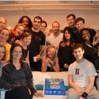 Photo Coverage: CURIOUS INCIDENT OF THE DOG IN THE NIGHT-TIME Celebrates 101 Performances on Broadway!
