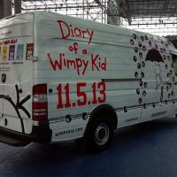 WIMPY KID Book Cover, Title, and Color Unveiled At Six Flags Today