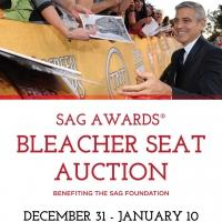 SAG AWARDS Red Carpet Bleacher Seats Up for Auction Beg. Today