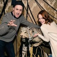Photo: CABARET's Emma Stone & Alan Cumming Treat Cast to a Night on the Town!