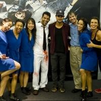 Photo Flash Exclusive: Taylor Lautner Visits FUERZA BRUTA