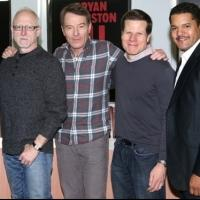 FREEZE FRAME: Bryan Cranston and ALL THE WAY Cast Meets the Press
