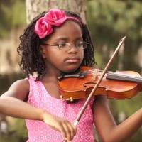 Watch Six–Year-Old Violin Prodigy Perform FROZEN's 'Let It Go' on ¼ Size Violin