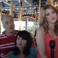 STAGE TUBE: Behind the Scenes at the Giggleberry Fair with the Cast of AND THE WORLD GOES 'ROUND