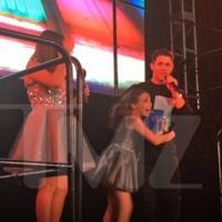 VIDEO: Nick Jonas Is Surprise Headlining Act at Paris-Themed Bat Mitzvah Party