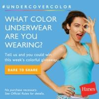 Hanes Dares Women to Dish on their Intimates
