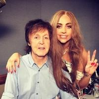 PHOTO: Lady Gaga Teases Collaboration with Sir Paul McCartney on Instagram!