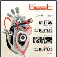 LIGHT Nightclub's Series 'The Beat' to Open in January with will.i.am, Macklemore & Ryan Lewis and More
