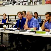 PHOTO FLASH: Sneak Peek at Barry Manilow & More in Rehearsals for Alliance Theatre's HARMONY � A NEW MUSICAL; Opens 9/15