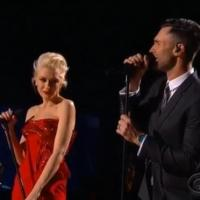VIDEO: Adam Levine, Gwen Stefani Perform Ballad 'My Heart Is Open' at GRAMMYS