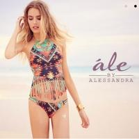 Alessandra Ambrosio Debuts Swimwear Line