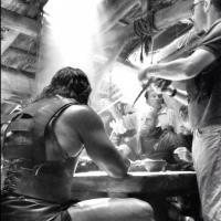 Photo Flash: Dwayne Johnson Tweets from HERCULES Set