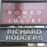 Up on the Marquee: ROMEO AND JULIET
