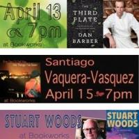This Week at Bookworks Features Stuart Woods, Alexander McCall Smith at the KiMo, and More!