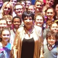 Liza Minnelli Attends West End MATILDA