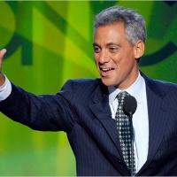 Chicago Mayor Rahm Emanuel Visits 'DAVID LETTERMAN' Today