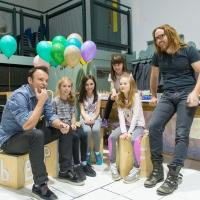New Pic - Minchin and Warchus With The MATILDA Girls!