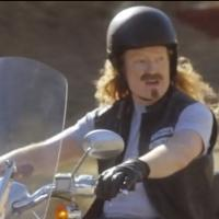 VIDEO: CONAN Channels Inner Biker in SONS OF ANARCHY Cold Open