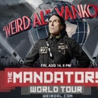 'Weird Al' Yankovic Returning to the King Center