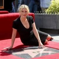 Photo Flash: Kate Winslet Honored with Star on Hollywood Walk of Fame