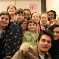 Photo Flash: Behind the Scenes - Cast of A CHRISTMAS STORY, THE MUSICAL Films GOOD MORNING AMERICA Medley