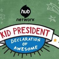 First Lady Michelle Obama Appears on The Hub's KID PRESIDENT: DECLARATION OF AWESOME Tonight