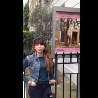 STAGE TUBE: Mariu Fernandez record� a Amy Winehouse en Londres