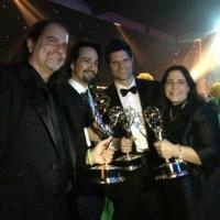 Photo Flash: Newly Minted Emmy Winners Dori Berinstein, Lin-Manuel Miranda & More Pose at Creative Arts Ceremony Photos