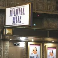 Up on the Marquee: MAMMA MIA! at the Broadhurst!