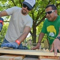 Jason Mraz Shows Off 'Green Thumb' at NYC Parks Event
