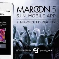 Maroon 5 Announces Augmented Fan Reality S.I.N. Mobile App for iPhone