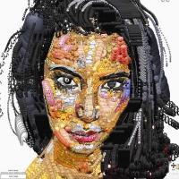 Photo Flash: Artist YUNG JAKE Creates Celebrity Portraits Using Emojis