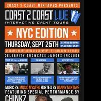 The Birthplace of Hip Hop to Host Coast 2 Coast Live NYC Edition