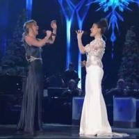 VIDEO: Idina Menzel and Jennifer Nettles Sing 'Let It Go' at CMA COUNTRY CHRISTMAS