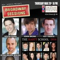 BROADWAY SESSIONS Welcomes The Hartt School Tonight