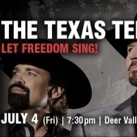 2014 Deer Valley Music Festival to Open with Patriotic Lineup, Featuring Texas Tenors and Kenny Rogers, Today