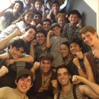 Photo Flash: Saturday Intermission Pics, August 23 - Part 2 - Final NEWSIES #SIP and More