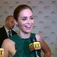 VIDEO: INTO THE WOODS' Emily Blunt Reacts to Golden Globe Nomination