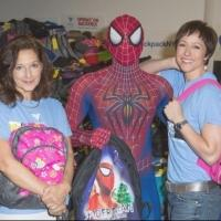 Photo Coverage: Paige Davis and SPIDER-MAN Team Up for Operation Backpack!
