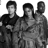 Rihanna Releases New Single Featuring Paul McCartney and Kanye West